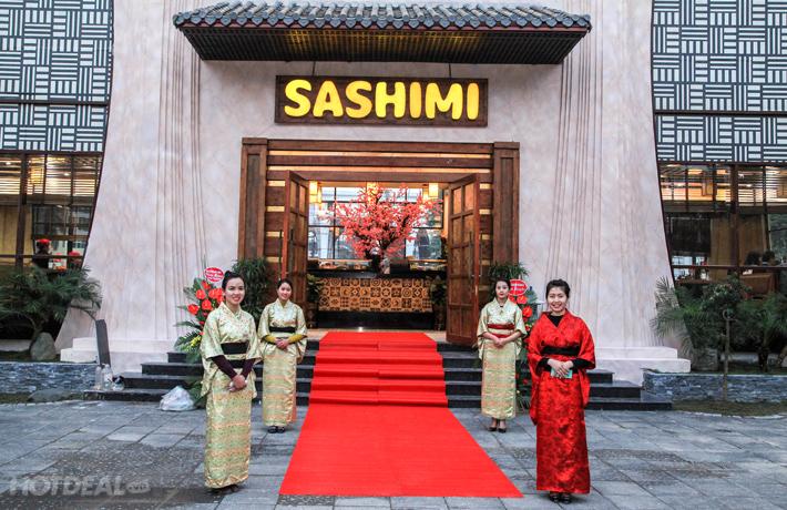 Buffet Nướng Lẩu Không Khói Sashimi BBQ Garden – Tập Đoàn Lã Vọng