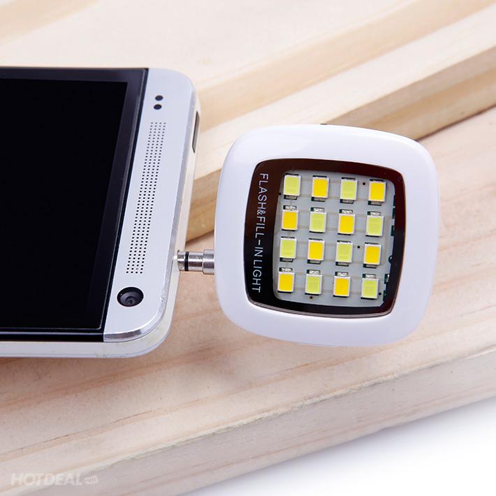 Đèn Flash Hỗ Trợ Chụp Ảnh Cực Độc Trên Điện Thoại/ Máy Tính Bảng