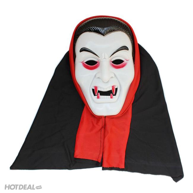 Thiết kế mặt ác quỷ Dracula rùng rợn, ấn tượng.